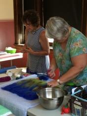 Linda Opitek workshop at Crooked Tree Art Center
