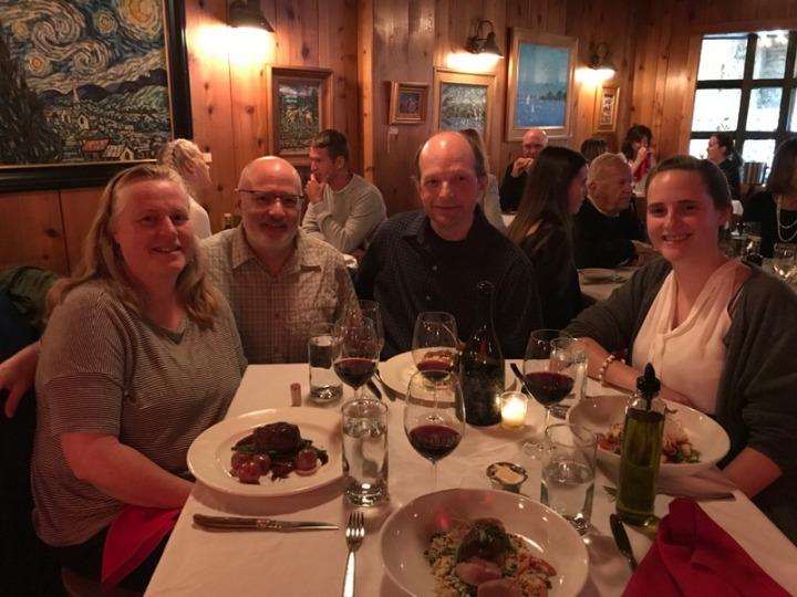 Dinner with Bill Hosterman