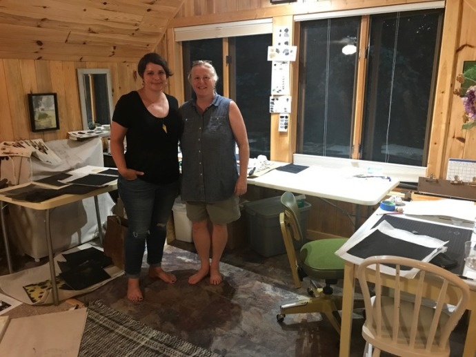 Amanda Hamilton and Susan Klco