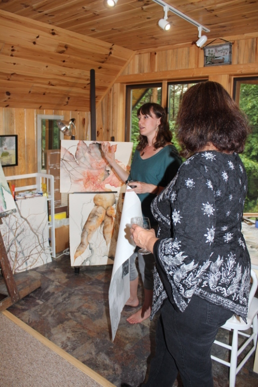 Lindsey Dunnagan - Community Open House - August 2014
