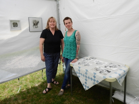 Susan Klco and Joanna Hoge