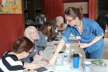 Kalina Winska Workshop at Crooked Tree Art Center - May 2014