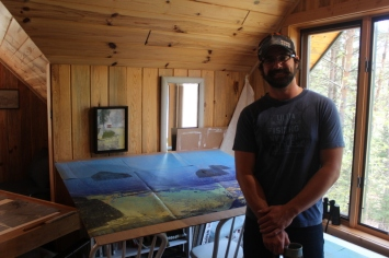 Mike Marks - Artist in Residence May 17, 2015