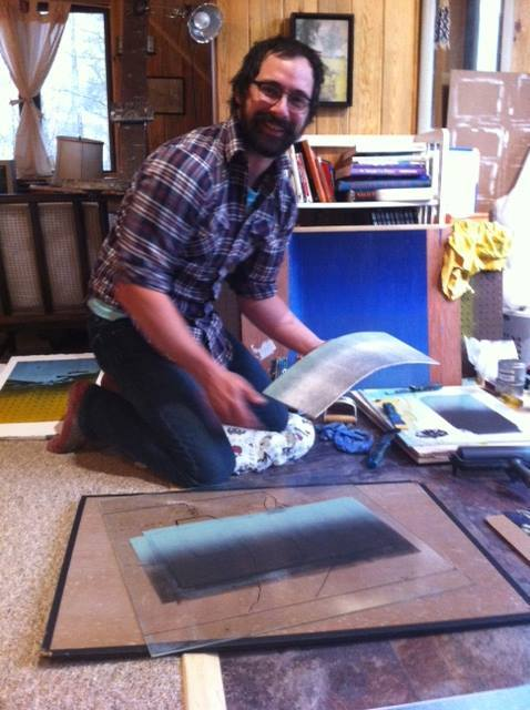 Mike Marks Artist in Residence May 18, 2015