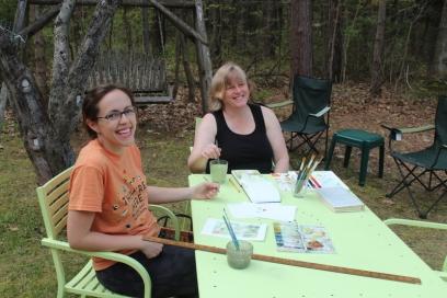 Megan and Susan Klco
