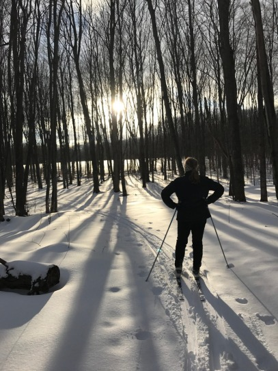 Cross Country Skiing - Good Hart Farms Nature Preserve