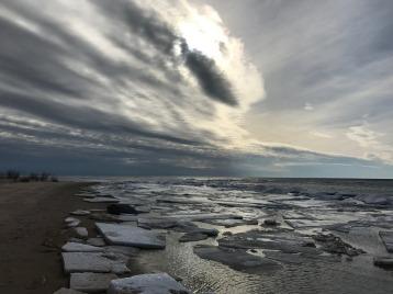 Lake Michigan Late Winter