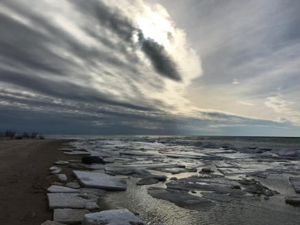 Lake Michigan Late Winter