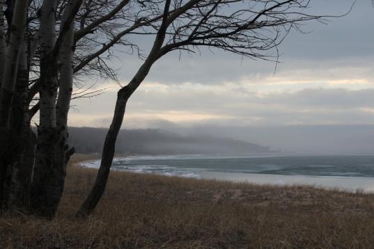 Lake Michigan near Cross Village