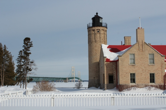 Mackinaw City Lighthouse