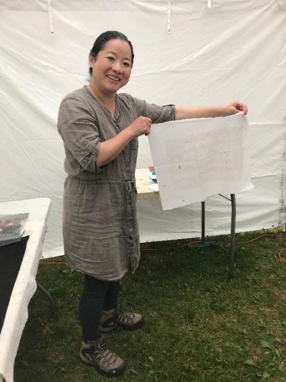 Mami Takahashi - open studio
