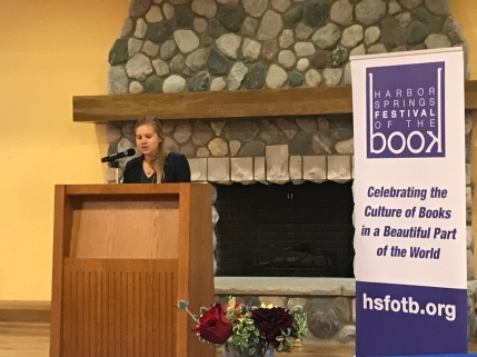 Bryna Cofrin-Shaw at Harbor Springs Festival of the Book