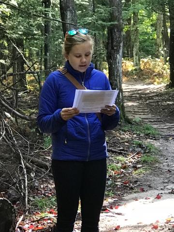Bryna Cofrin-Shaw reading