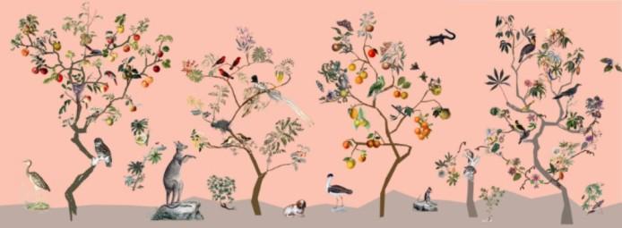 wallpaper practice - Emma Steinkraus