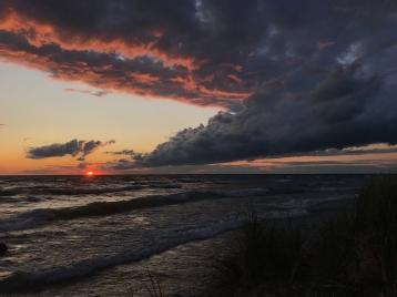 Lake Michigan sunset2