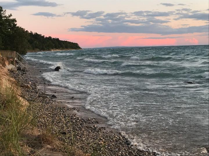 Lake Michigan sunset4