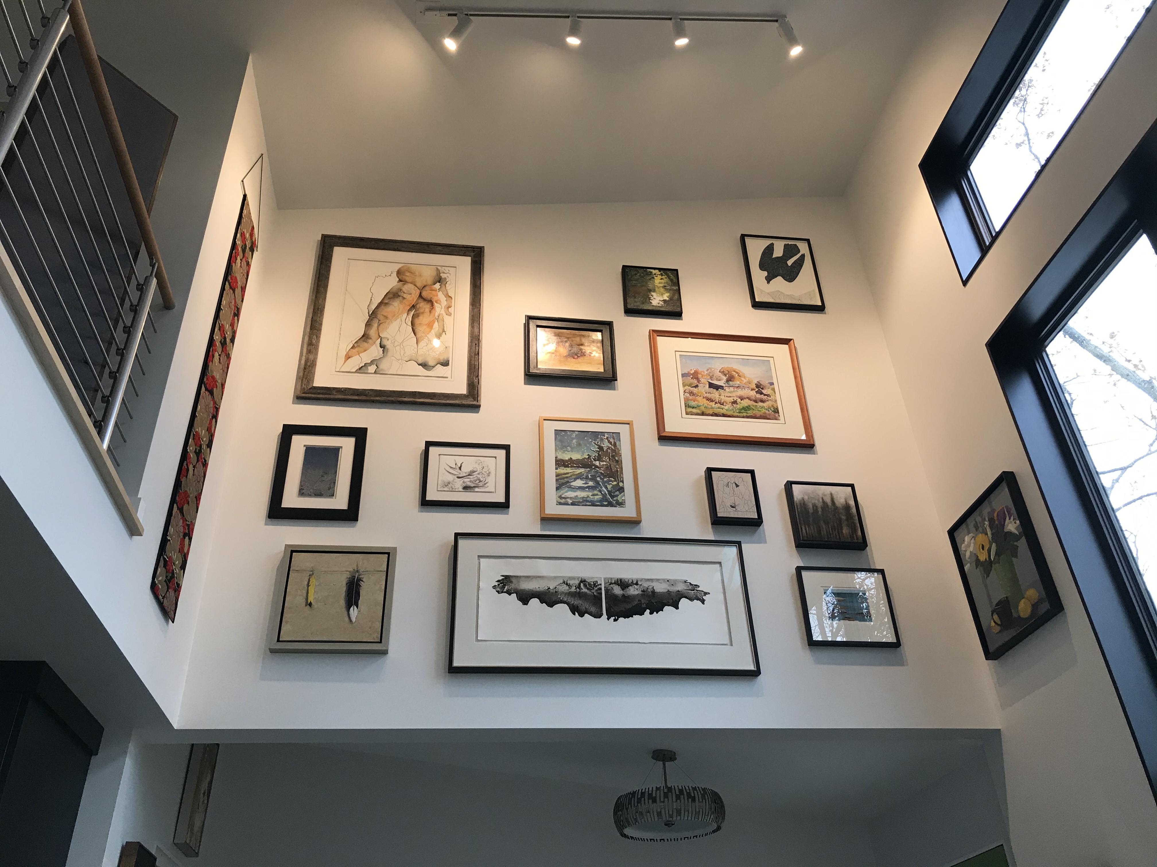 Artwork at Good Hart Artist Residency